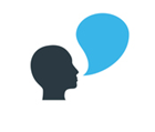 Voice communication icon